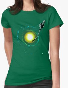 music from the milky way Womens Fitted T-Shirt