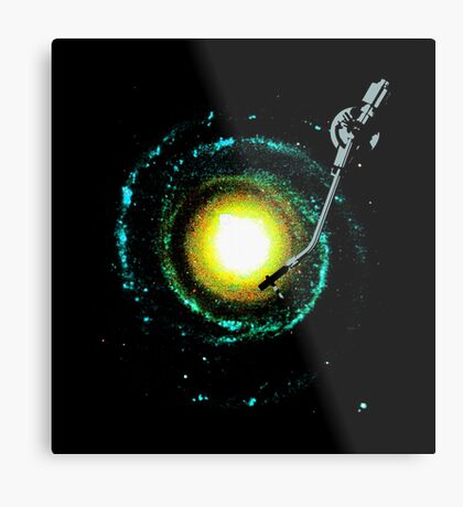 music from the milky way Metal Print