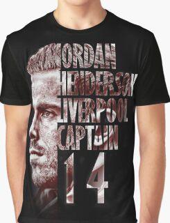Liverpool FC: Jordan Henderson Graphic T-Shirt