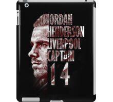 Liverpool FC: Jordan Henderson iPad Case/Skin