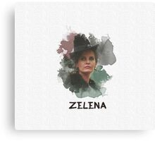 Zelena - Wicked Witch - OUAT Canvas Print