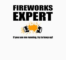 Fireworks Expert If you see me running Unisex T-Shirt
