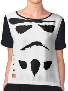 Japanese Stormtrooper inspired design Chiffon Top