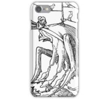 Droll Dreams of Pantagruel Plate 7 iPhone Case/Skin
