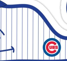 Chicago Cubs Whale Sticker