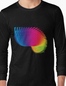 Abstract 426H Fractal Long Sleeve T-Shirt