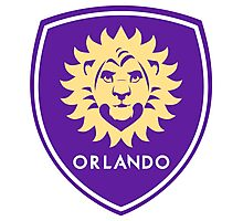 Orlando City Lion the King Photographic Print