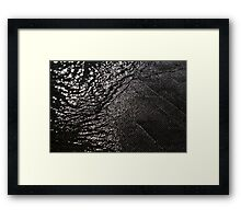 Movement Of Water Framed Print