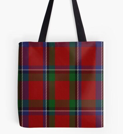 00086 Sinclair Clan Tartan  Tote Bag