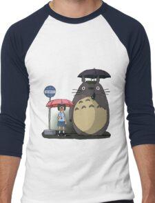 Tonari No Tina Men's Baseball ¾ T-Shirt