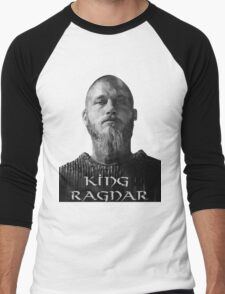 Reigning Ragnar  Men's Baseball ¾ T-Shirt