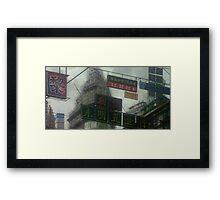 City from Ghost In The Shell Framed Print