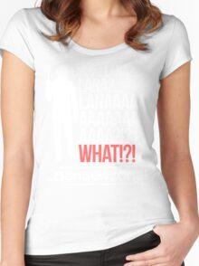 LANAAAAAAA!?!... Danger Zone! Women's Fitted Scoop T-Shirt