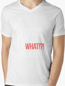 LANAAAAAAA!?!... Danger Zone! Mens V-Neck T-Shirt