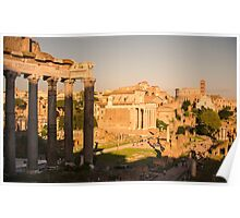 Rome - Imperial Forums Poster