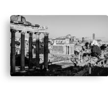 Traces of History Canvas Print