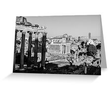 Traces of History Greeting Card