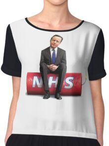 NHS is a ticking bomb Chiffon Top