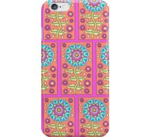 Rectangle Flower Repeat iPhone Case/Skin