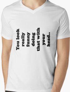 Funny Mens V-Neck T-Shirt