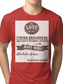 Charles Darwin Quote Tri-blend T-Shirt