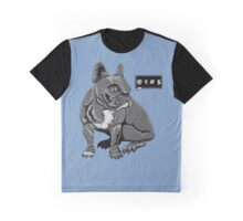 Cursing French Bulldog  Graphic T-Shirt