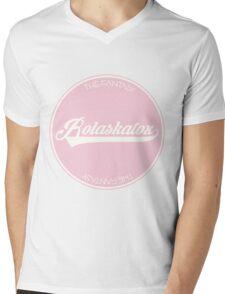 ROLASKATOX Mens V-Neck T-Shirt