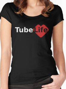 Tube Life Women's Fitted Scoop T-Shirt
