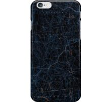 USGS TOPO Map Connecticut CT Gilead 331029 1892 62500 Inverted iPhone Case/Skin