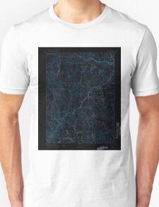 USGS TOPO Map Connecticut CT Gilead 331029 1892 62500 Inverted Unisex T-Shirt
