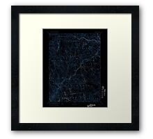 USGS TOPO Map Connecticut CT Gilead 331029 1892 62500 Inverted Framed Print