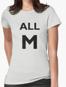ALL Might Womens Fitted T-Shirt