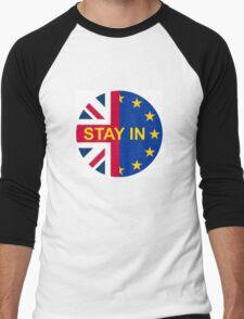 BRITAIN STAY IN THE EU Men's Baseball ¾ T-Shirt