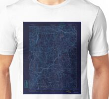 USGS TOPO Map Connecticut CT Gilead 331025 1892 62500 Inverted Unisex T-Shirt