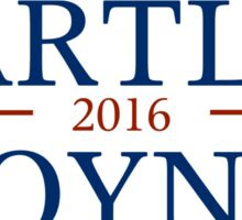 Bartlet 2016 Sticker