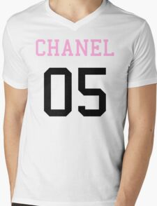 CHANEL 05 Mens V-Neck T-Shirt