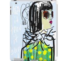 smart girl iPad Case/Skin
