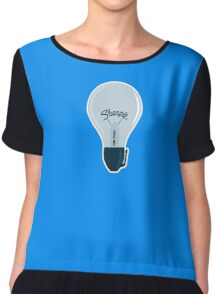 Sharpie Bulb Women's Chiffon Top