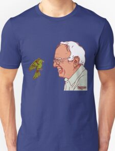 Bernie Sanders and bird Unisex T-Shirt