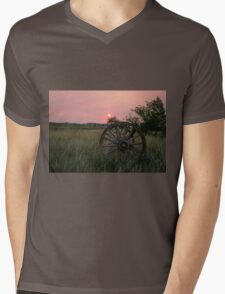Sunny Vista Sunrise Mens V-Neck T-Shirt