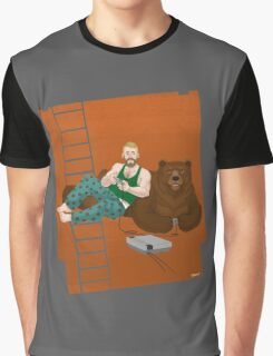 Gamers and Bears Graphic T-Shirt