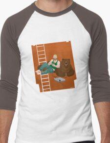 Gamers and Bears Men's Baseball ¾ T-Shirt