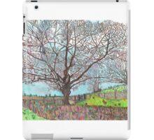 TREES IMPRESSIONIST CARTOON iPad Case/Skin