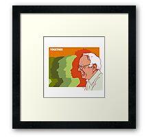Bernie Sanders Poster Framed Print
