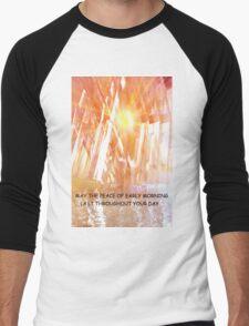 Inspirational morning Men's Baseball ¾ T-Shirt