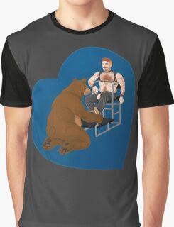 Boot Bear Graphic T-Shirt