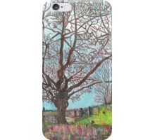 TREES IMPRESSIONIST CARTOON iPhone Case/Skin
