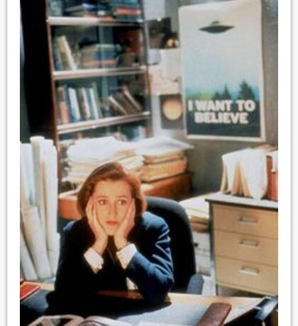 Scully! Sticker