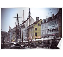 Copenhagen in the Spring Poster