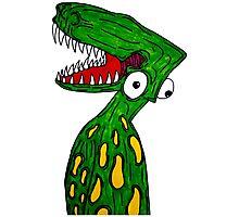 Alien Dinosaur  Photographic Print